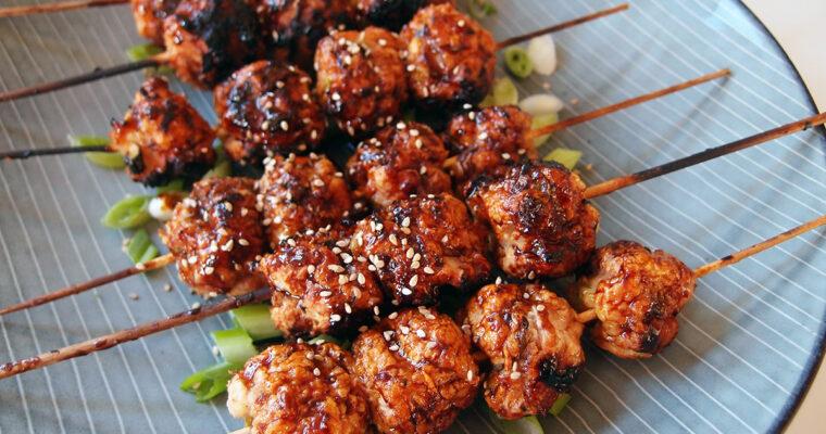 Tsukune – grillede kyllingekødboller