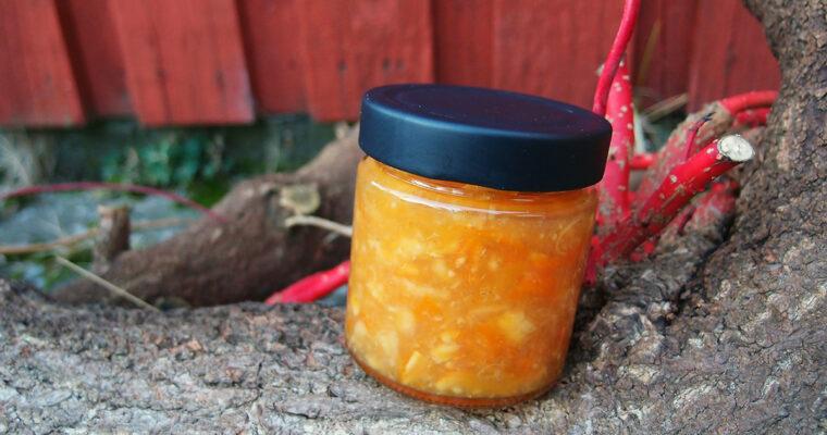 Letbitter citrusmarmelade