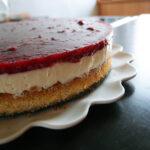Hindbær-cheesecake