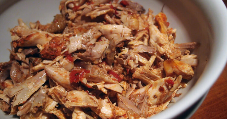 Pulled chicken – mexican style