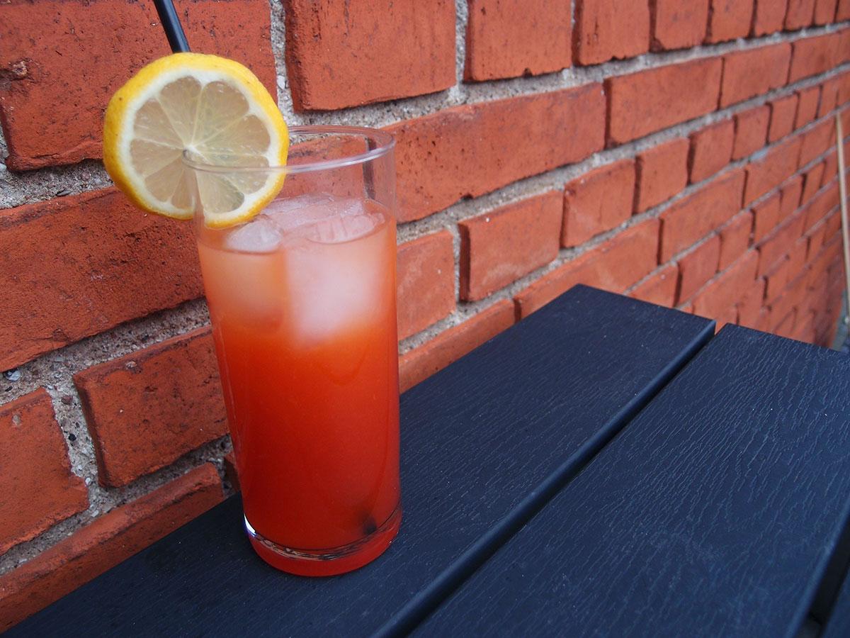 alabama slammer, drink, Southern Comfort, grenadine, appelsinjuice, gin, Amaretto