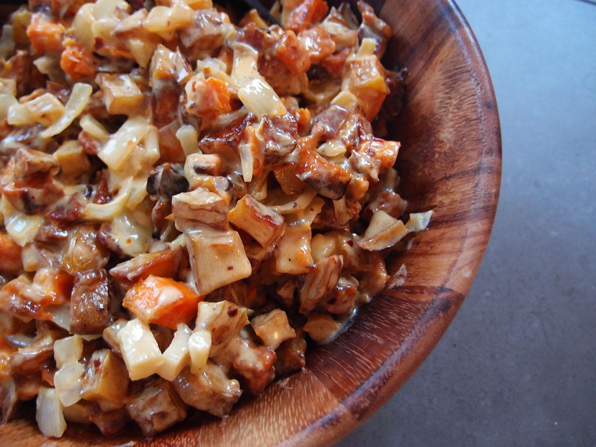 Skillet potatoes – kartofler stegt i fløde