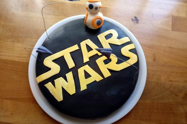Simpel Star Wars kage