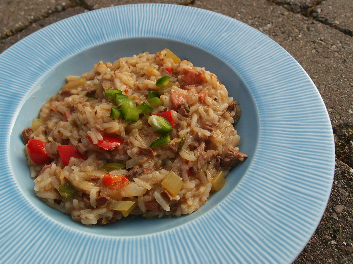 Dirty rice - en cajun-risret