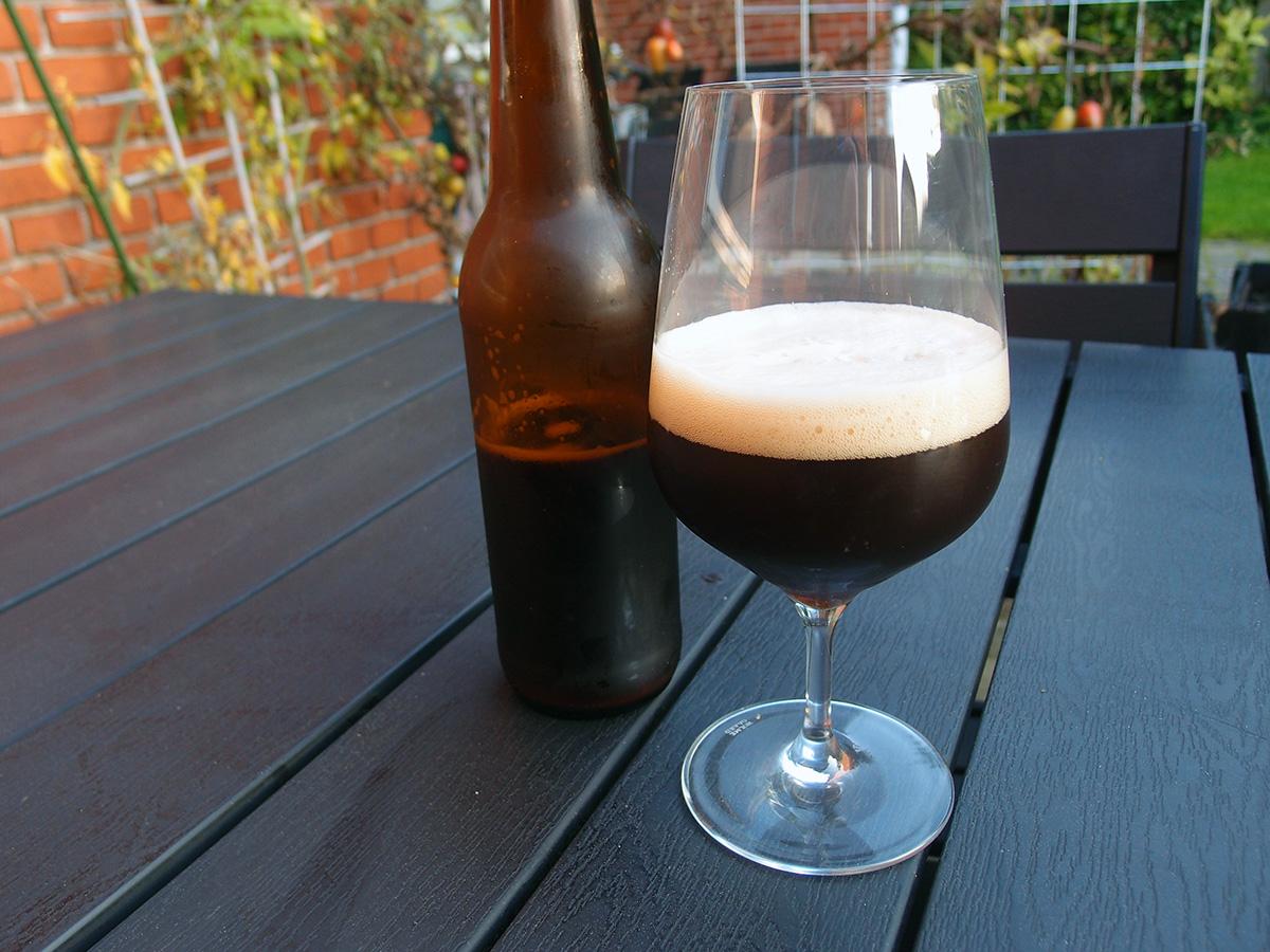 hjemmebrygget brown ale, ølbrygning