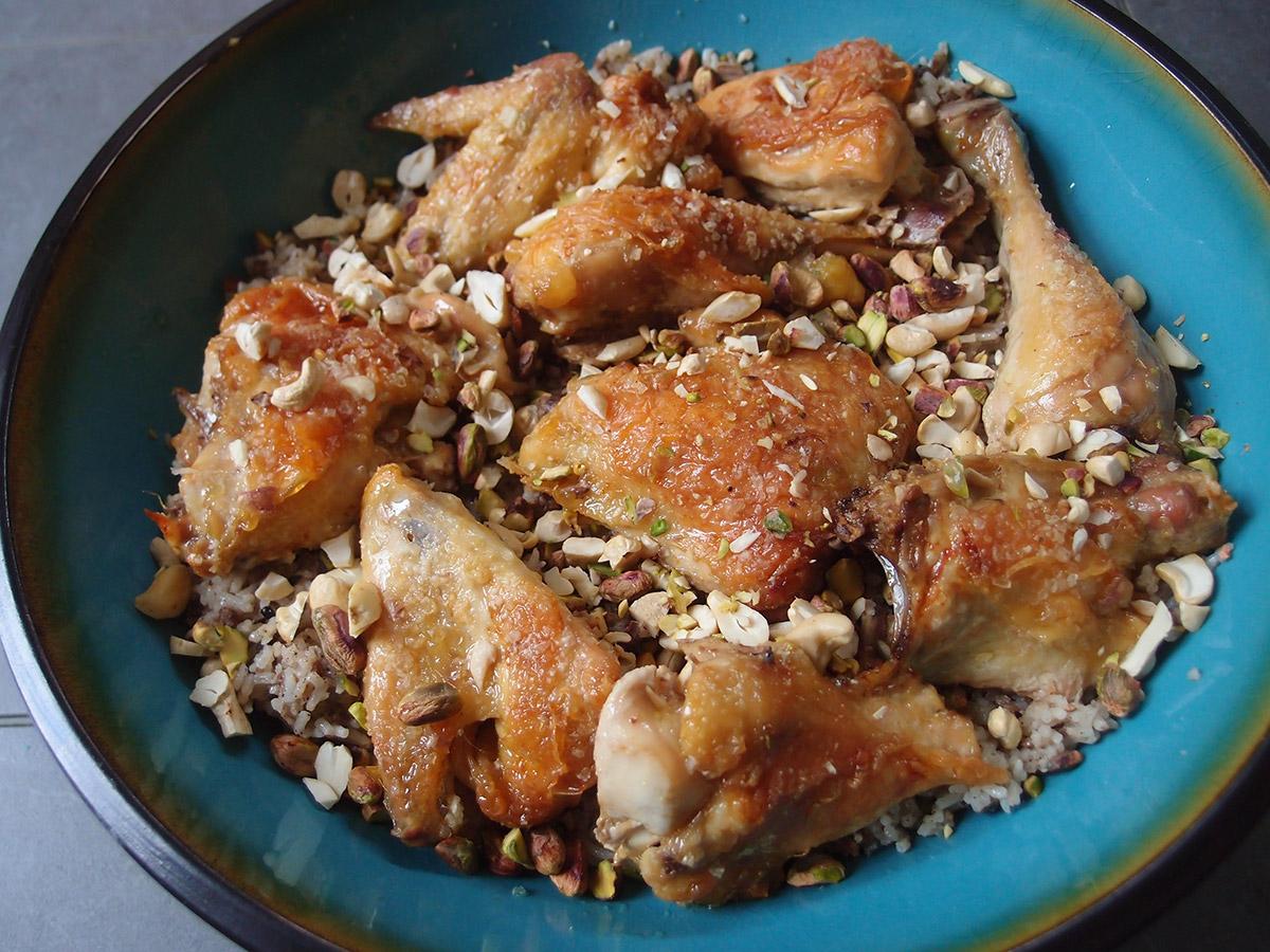 Libanesisk risret med kylling