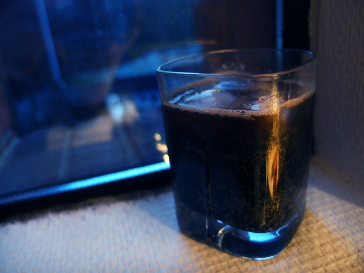 Porterdrink med kaffetouch