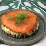 Lakse-cheesecake