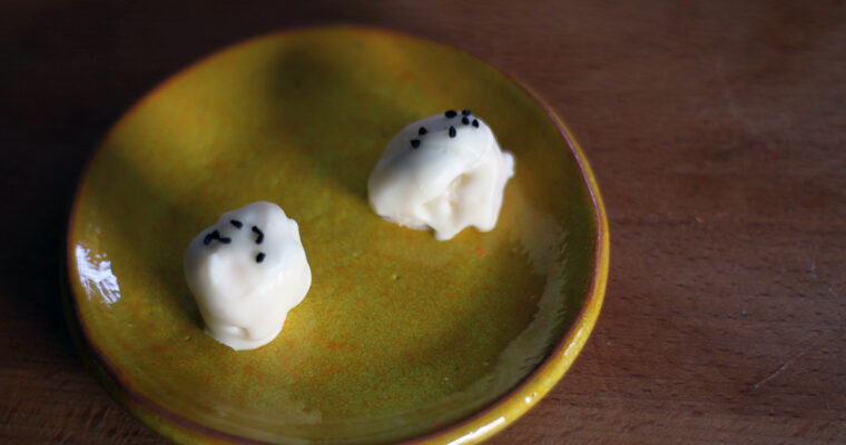 Ostekonfekt – chokoladeovertrukken blåskimmelost