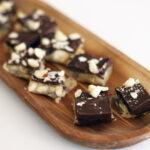 Hasselnøddeknas med nougat og chokolade