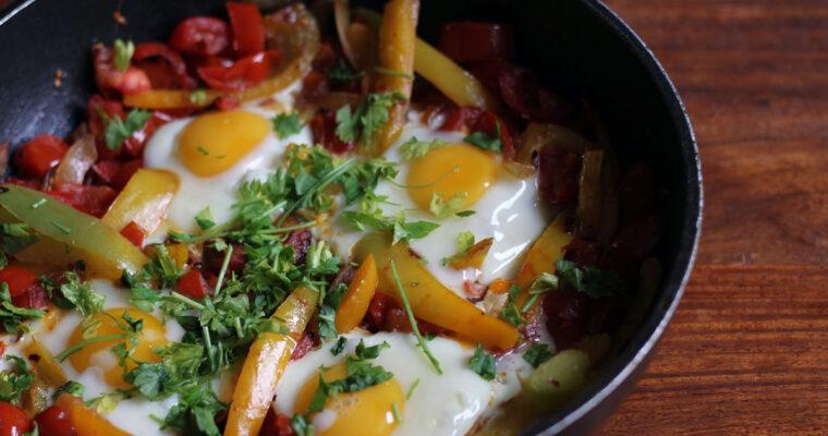 Menemen – tyrkisk morgenmadsomelet