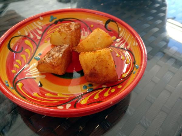 kartofler, paprika, rapsolie, patatas bravas