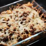 Restefad med kartofler, græskar og oksekød
