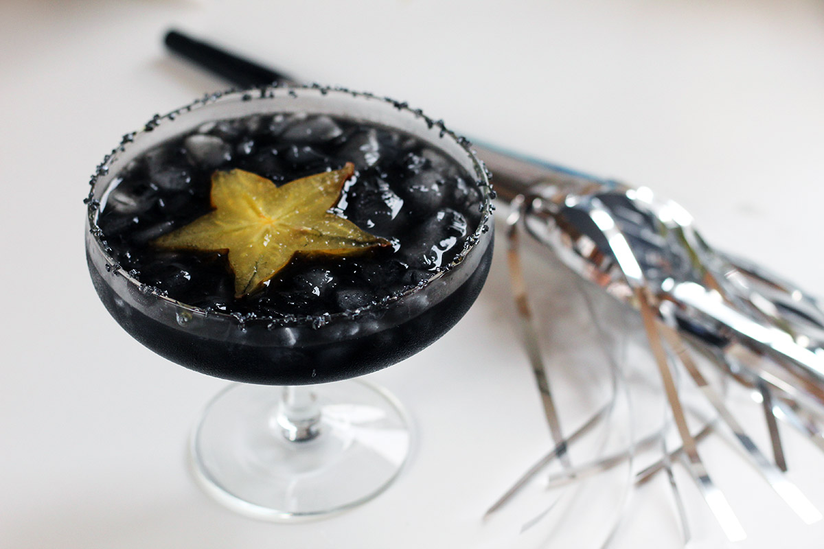 star night, sort cocktail, pastisdrink, lakridsdrink, pastis, gin
