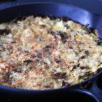 Frittata med kartofler og grønkål