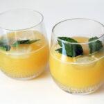 Sød og sommerlig mangodrink