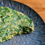 Iransk æggekage – kuku sabzi