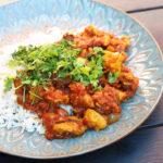 Persisk kylling i abrikossauce