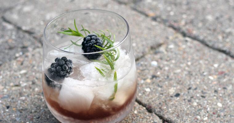 Bramble – gin og brombærdrink