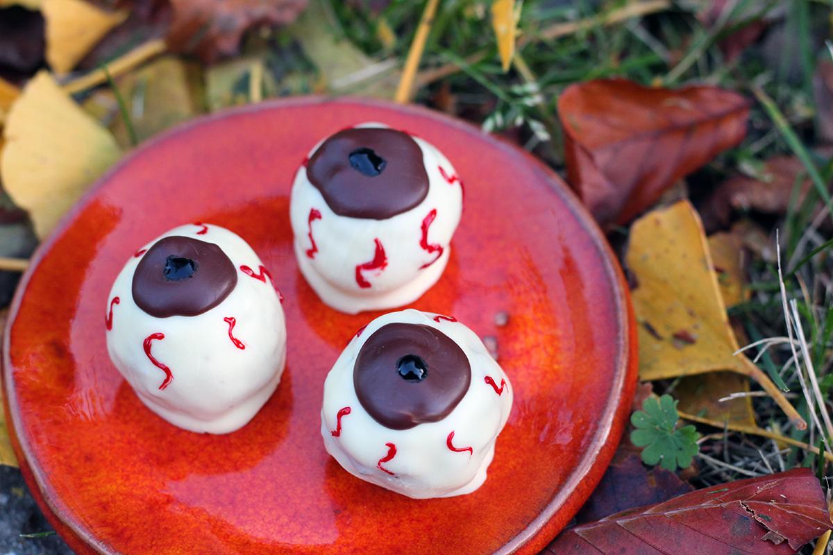 Halloween-øjne