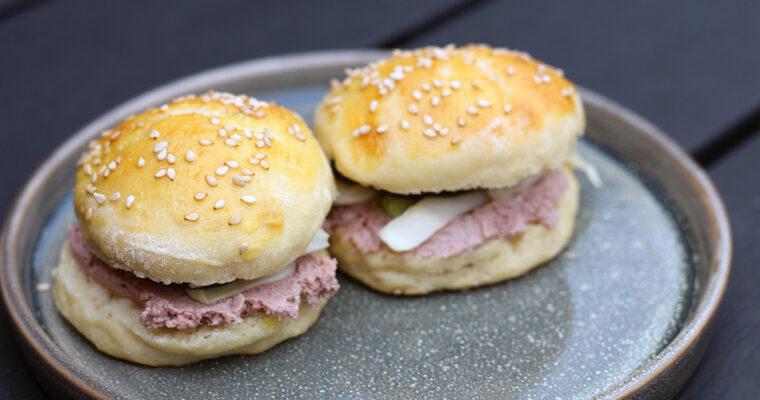 Miniburger med paté