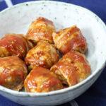 Oink Balls – kødboller i bacon