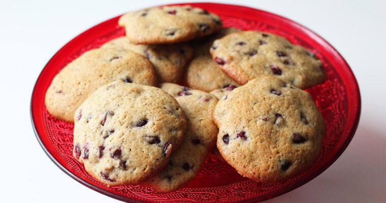 Granatæble cookies