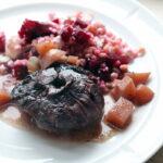 Lammenakke i rødvin