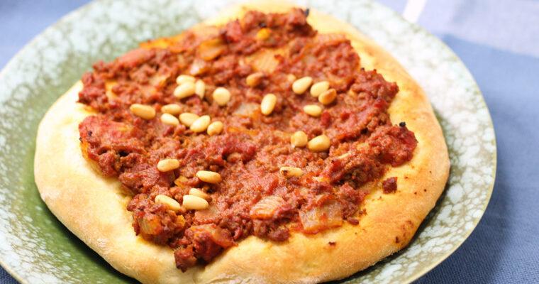 Libanesisk pizza – lahem bajin
