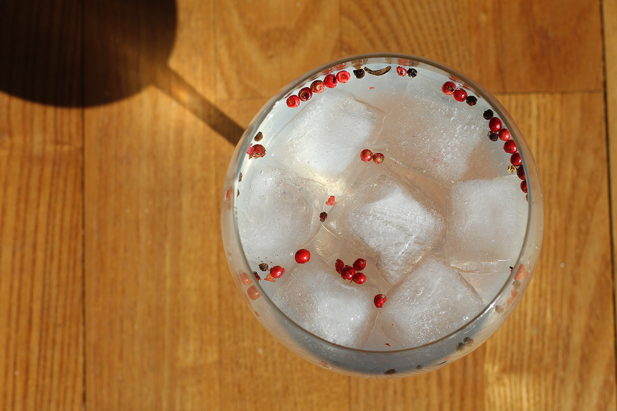 Opihr gin & tonic