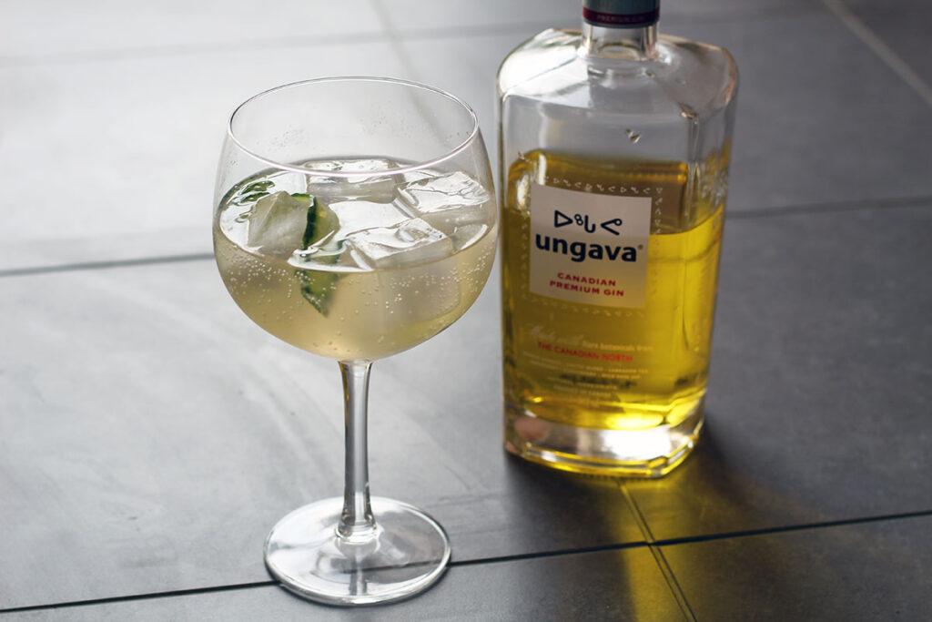 påskegin, Ungava Gin, tonic,