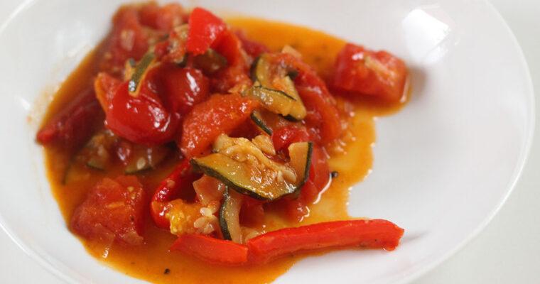 Pisto – spansk vegetarret