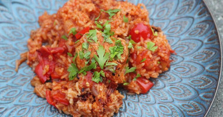Arroz con Pollo – spansk kylling