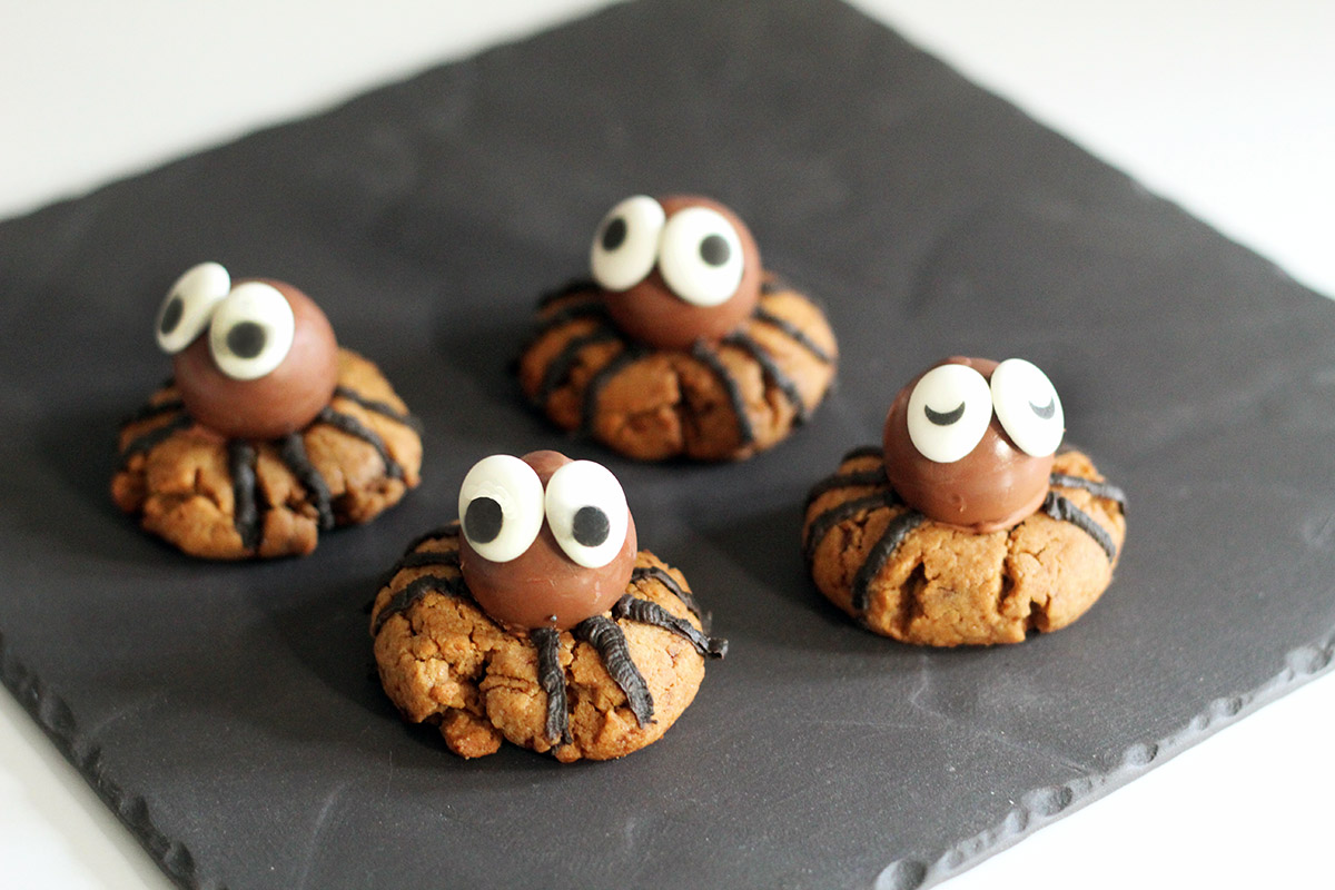 Edderkoppe-småkager
