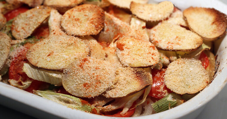 Tian – provencalsk grøntsagsfad