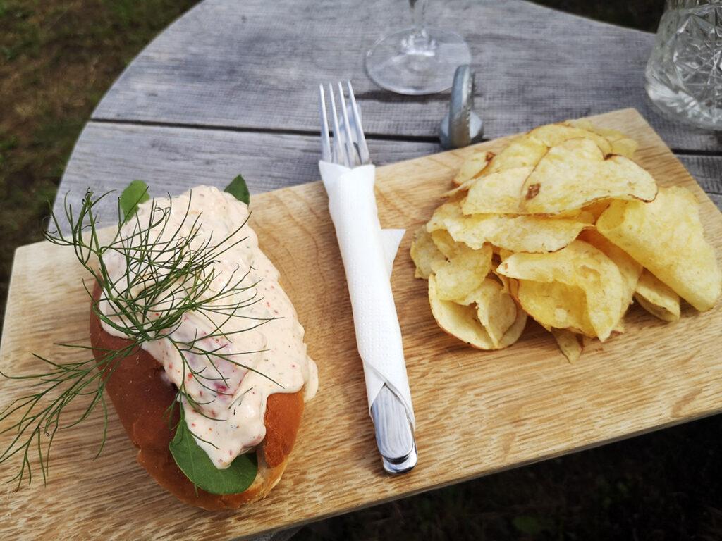 Bayr Frost, restauranter på Bornholm, restaurantanmeldelse, madanmeldelse, god frokost på Bornholm