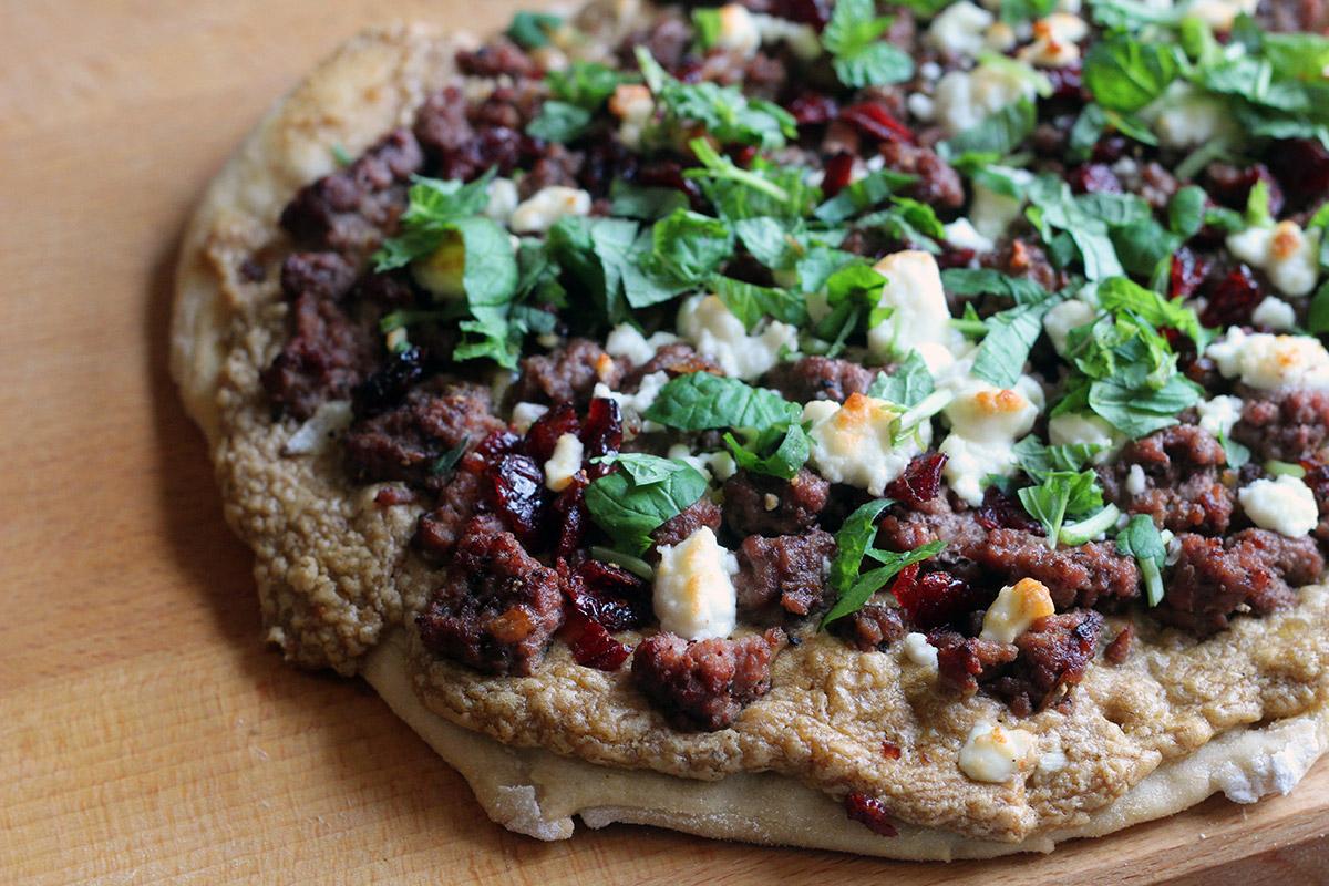Mellemøstlig pizza