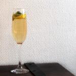 Nytårsdrink - Champagnemojito