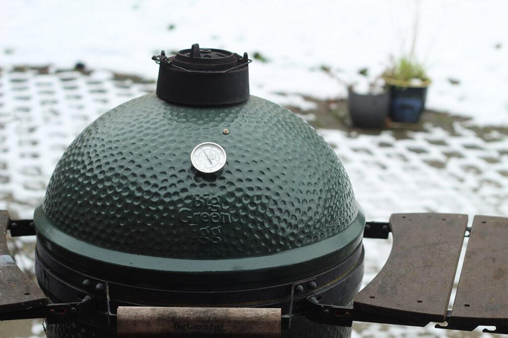 grill om vinteren