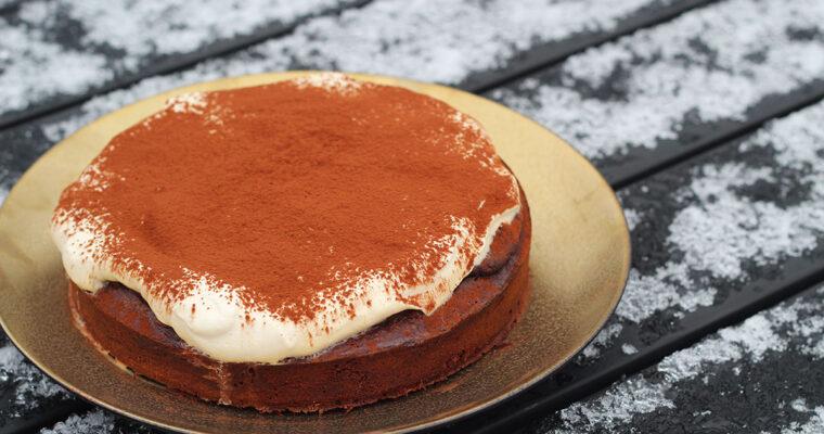 Kage med stout og chokolade