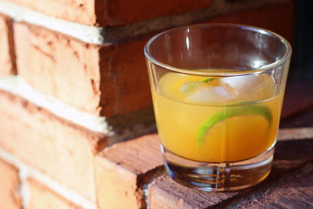 Spicy Orange cocktail
