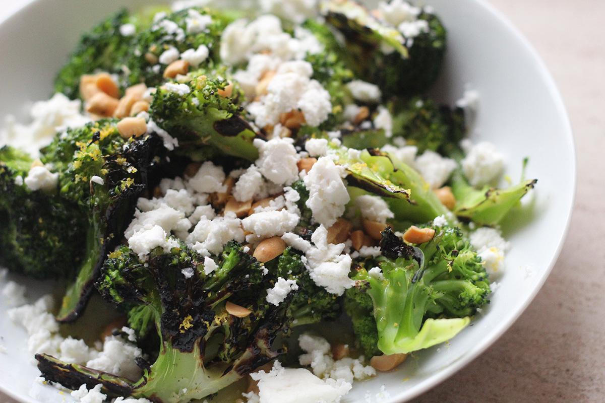Grillet broccoli