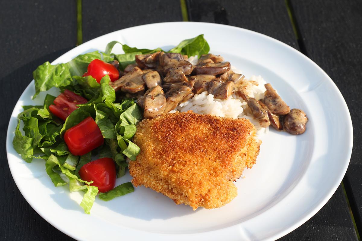 Cordon Bleu med kylling