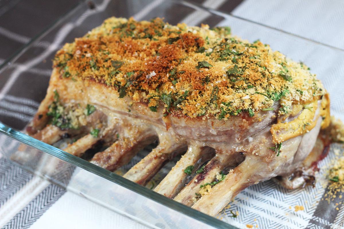 Lammekrone og søde kartofler
